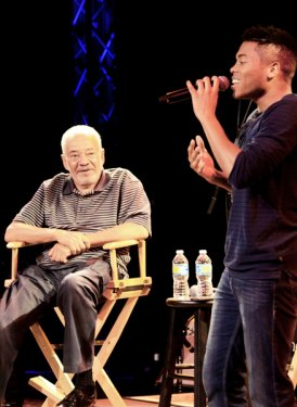 Bill Withers and Javen Smith