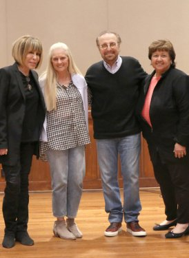 (left to right) Mike Todd, Cynthia Weil, Barbara Cane, Barry Mann, Mary Jo Mennella and Chris Sampson