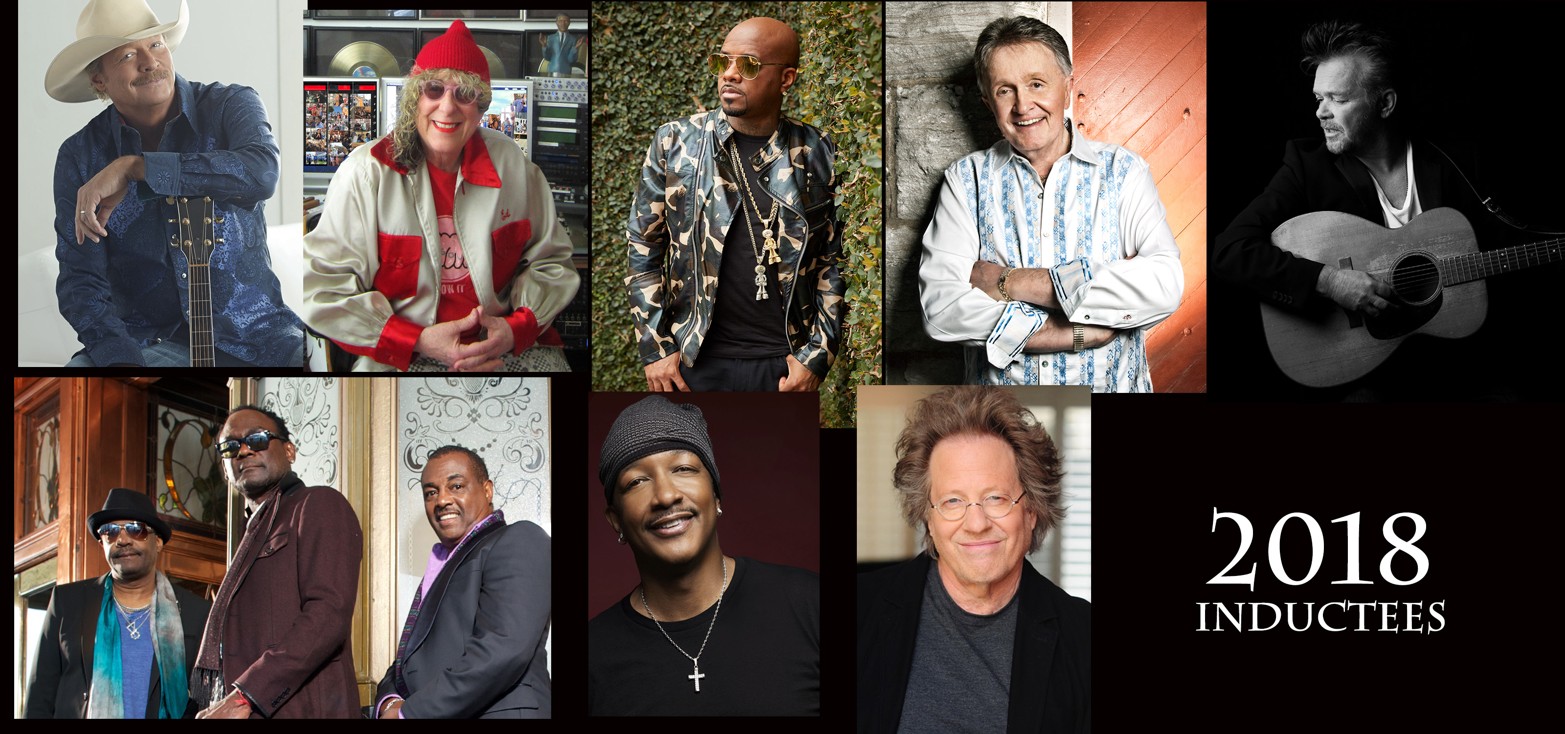 Songwriters Hall Of Fame Announces 2018 Inductees